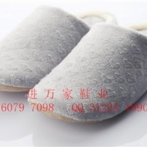 韩款男女情侣秋冬季棉拖鞋室内木地板防滑保暖拖鞋无声静音棉拖鞋