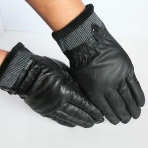 河北手套厂家批发冬季保暖PU男女式手套猪皮螺口大棉手套