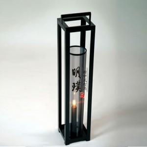 明璞现代新中式台灯 楼道玻璃中式台灯 铁艺新中式台灯批发