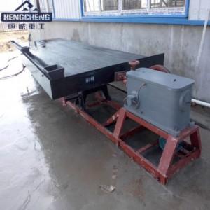 供应砂金分离设备、炉渣分离设备、选矿摇床、冶金矿产设备