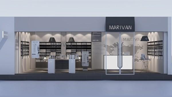 广州化妆品专卖店装修设计效果图常用设计感字体下载图片