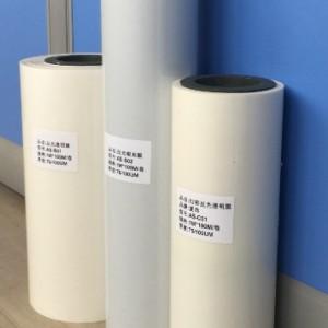 纸张强度高层次分明反光膜 上海银白网印反光膜厂价