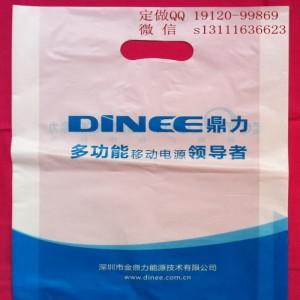 手机塑料袋制作厂家-手机店广告袋设计图片