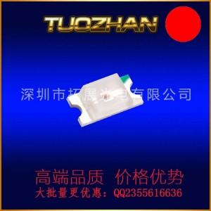 深圳厂家定做发光二极管1205红光反编贴片LED灯珠