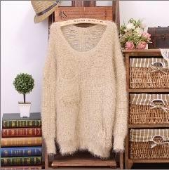 澄海荣殷毛织厂 专业生产女式毛衣 提供毛衣订做、代加工生产服