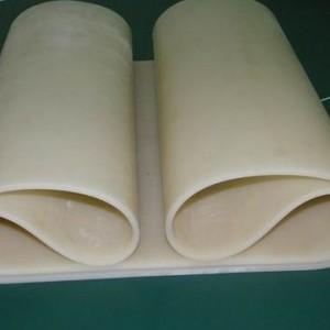 多边封塑料制袋机3mm厚硅胶皮,耐磨耐高温食品级硅胶板