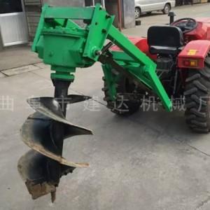 全新植树挖坑机 林业机械挖坑钻洞机价格