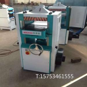 供应木工机械双面刨 手动重型双面压刨 高速节能木工刨床