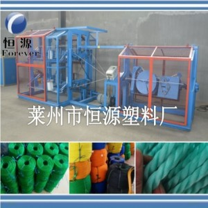 全自动塑料制绳机,扭绳机价格,明股扭绳机厂家