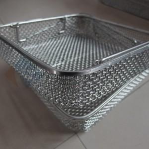 不锈钢消毒筐 飞安独特的加工工艺 出口品质 放心购买