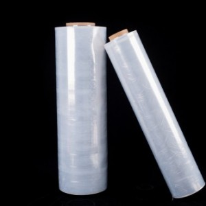 打包膜pe机用 手用缠绕膜pe保护膜 拉伸包装膜厂家供应