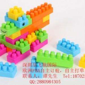 浙江出口儿童玩具到英国亚马逊 英国FBA双清包税的物流
