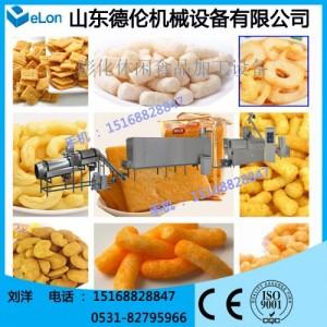 DL56沙拉、薯条油炸面食生产线 休闲食品加工设备 膨化机械