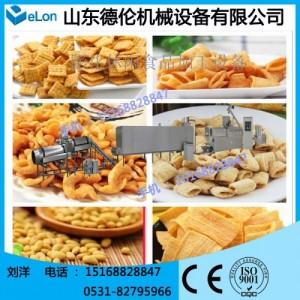 乐山DL56沙拉、薯条油炸面食生产线 休闲食品加工设备 膨化机械