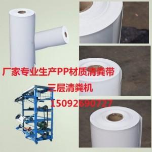 厂家直销PP材质清粪带养殖专用输送带 尺寸定做绿色环保经久耐