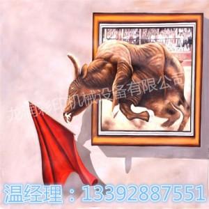 浙江无纺布壁画3D彩印喷绘机