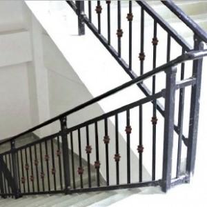 建材五金管材楼梯护栏安装
