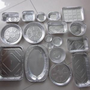 铝箔餐盒 吸塑餐盒定制  食品吸塑托盘厂上海广舟