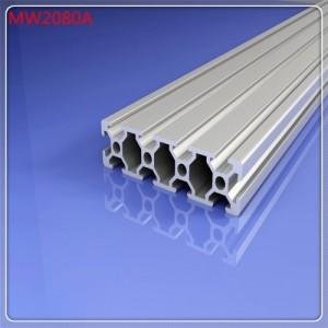 工业铝合金型材2080 上海流水线材料销售 铝制品加工生产厂