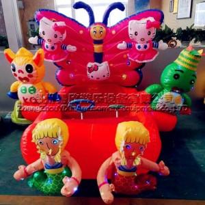 动物玩具车可坐人电瓶车 儿童广场定时电动玩具车 亲子电瓶车厂