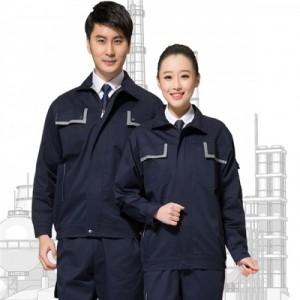 胶南工作服工厂|秋冬纯棉保暖工作服定做|透气舒适