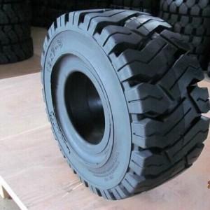 厂家直销28*9-15林德出口实心叉车轮胎工程机械轮胎三包