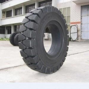厂家直销23*10-12林德出口实心叉车轮胎工程机械轮胎三包