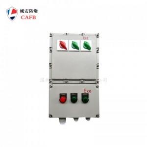 三相电防爆控制箱生产 内置空气开关