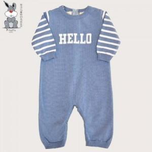 0-3岁儿童春秋冬款全棉针织连体毛衣 儿童毛衣批发