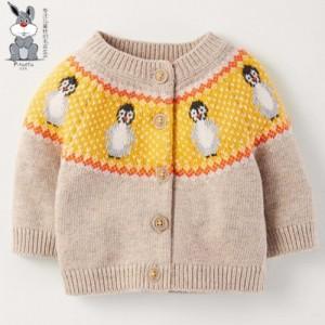 3-9岁全棉儿童针织开衫毛衣 儿童毛衣批发