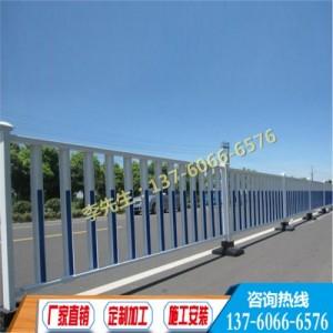 海南公路隔离栏杆 三亚市政交通护栏 五指山面包管护栏