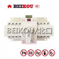 万高双电源自动转换开关63A/4P/CB级/迷你型/消防型
