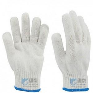 广州雄泰劳保用品棉纱手套防护手套防滑耐磨线手套