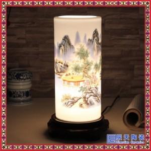 景德�白瓷手�L薄胎陶瓷吊��粽� 中式��房�P室床�^��