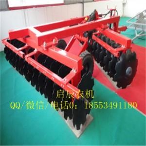 1BZ系列牵引式24片圆盘重耙液压偏置式耕地耙土壤耕整机械