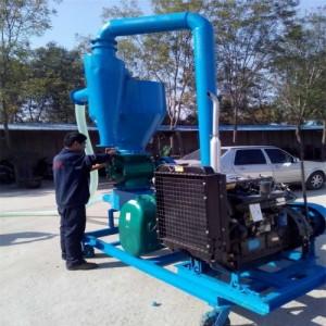 碳酸钙输送清仓倒仓高扬程风力吸粮机 化工粉粒原料无尘气力输送