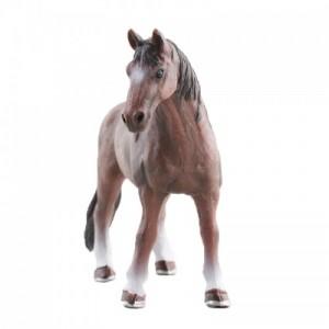 玩模乐仿真动物模型 儿童玩具塑胶烈马场静态模型批发