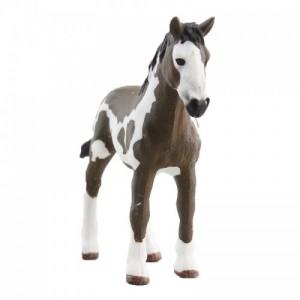 玩模乐仿真动物模型 儿童玩具塑胶小品脱马场静态模型批发