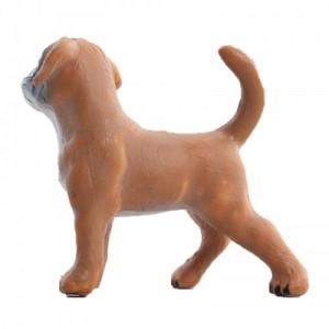 玩模乐仿真动物模型 儿童玩具塑胶拳师犬幼崽静态模型批发