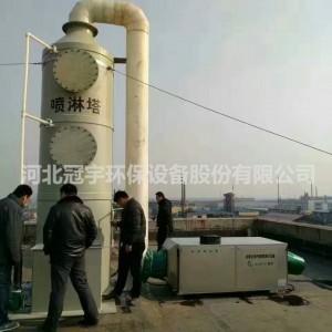 新蔡县油墨印刷UV光解废气处理设备价格