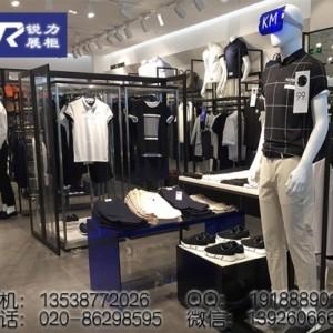 服装店展示道具时尚男装展示柜金属展示架