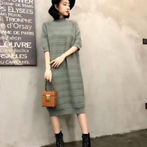 秋冬新款羊毛针织宽松打底衫宽松休闲羊毛衫