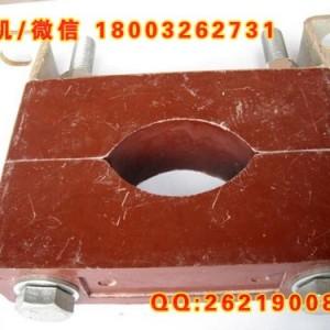 电缆夹防涡流夹具电缆固定夹PMC胶木绝缘材料固定支架可定制