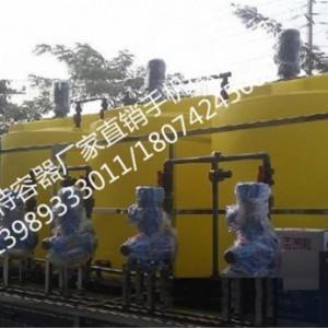 安庆滚塑设备加工外贸水箱/专业研发定制塑料容器