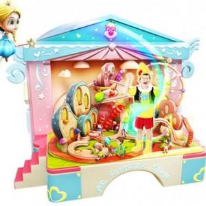 AR互动智能小舞台百变剧场早教故事书益智玩具儿童男女孩礼物