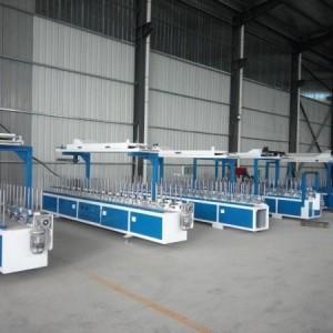 铝合金移门型材包覆机覆膜机价格质量林木机械