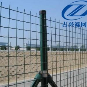 广州镀锌铁丝绿色浸塑荷兰网方孔隔离防护围栏网养殖网厂家