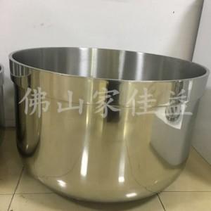厂家直销 不锈钢和面桶 直边和面桶 食品机械配件
