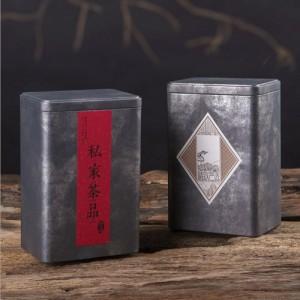 广州义统包装 马口铁2120润物茶叶罐礼盒拍底茶叶包装定制批