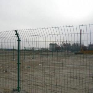 双边丝养殖道路护栏网  聚光现货铁丝包安装绿色浸塑围栏网